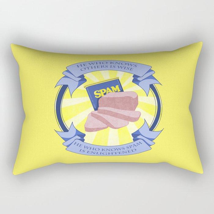 The Spam of Enlightenment Rectangular Pillow