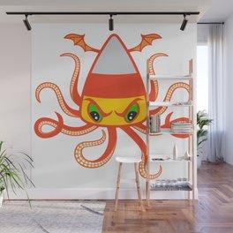 Candy Corn Cthulhu Wall Mural