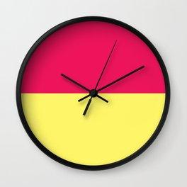 Rhubarb & Custard Wall Clock
