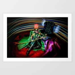 Prince Loki Art Print