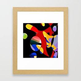 ha bla Framed Art Print