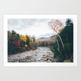 WHITE MOUNTAINS Art Print