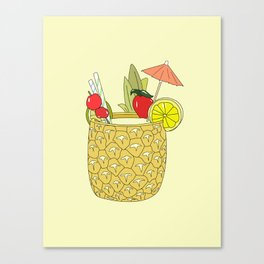 FRUITY DRINK Canvas Print