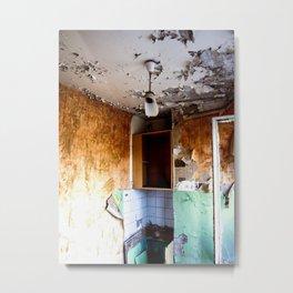 Lime House Metal Print