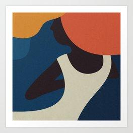 The Dancing Woman Art Print