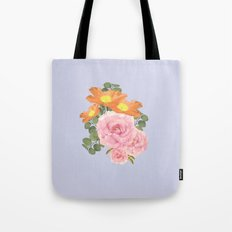 Summer Floral Tote Bag