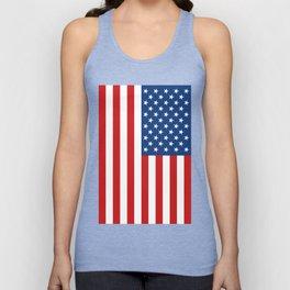 United States Flag Unisex Tank Top