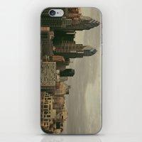 philadelphia iPhone & iPod Skins featuring Philadelphia by Katie Leva