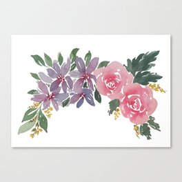 Blooming Pretty Canvas Print