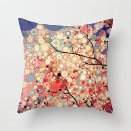 Positive Energy Throw Pillow