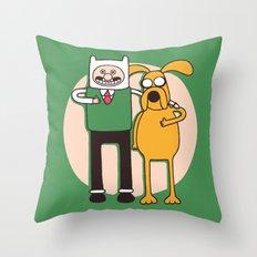 A Grand Adventure Throw Pillow