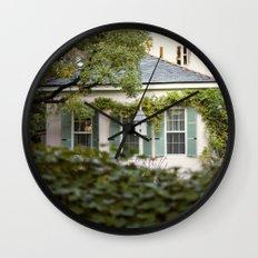 glimpse::charleston Wall Clock