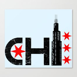 The Chi Canvas Print