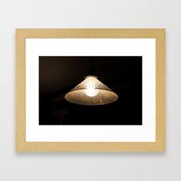 Beacon of Light in the Dark Framed Art Print