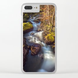 Becky Falls, Dartmoor Clear iPhone Case