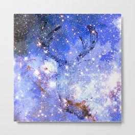 DEER STARS NEBULA Metal Print