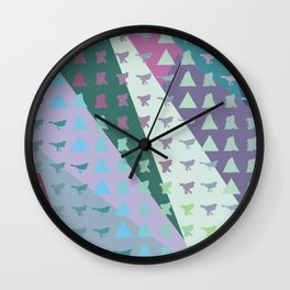 wrecking bird Wall Clock