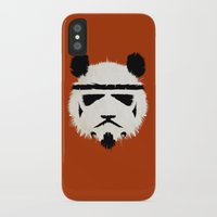 panda iPhone & iPod Cases featuring Panda Trooper by Danny Haas