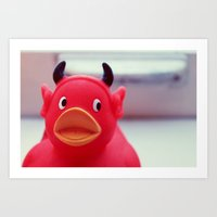 diablo Art Prints featuring Diablo Duck by MSG Imaging