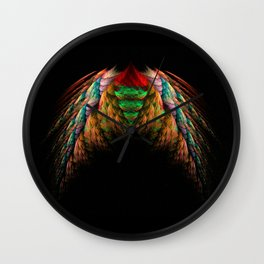 Wings Wall Clock