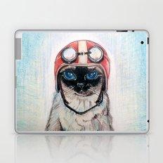 Aviator Cat Laptop & iPad Skin
