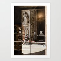 religion Art Prints featuring RELIGION by Sébastien BOUVIER