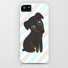 Rylee the Min Pin iPhone Case