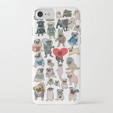 Pugs iPhone 7 Slim Case