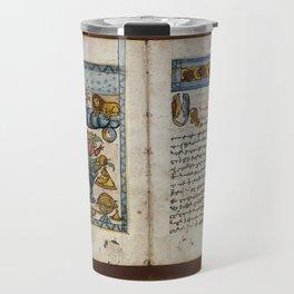 Armenian Manuscript, Khachatur dpir (1795) Travel Mug