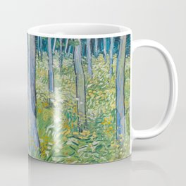Vincent van Gogh - Undergrowth with Two Figures, 1890 Coffee Mug