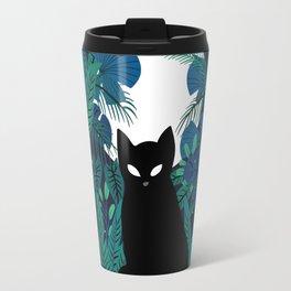 mystical cat Travel Mug