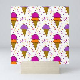 I Scream For Ice Cream Mini Art Print