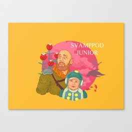 Svamppod Junior Canvas Print