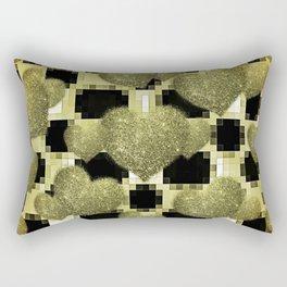 LICORICE AND LEMON HEARTS Rectangular Pillow