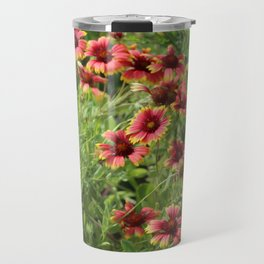 Wild Flowers Travel Mug