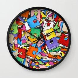 Falling BreadTabs 2007 Wall Clock