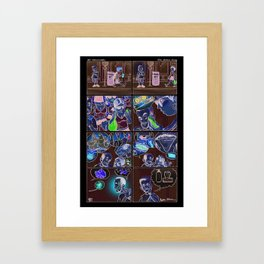 "Lil' Silversmith's in ""Aw, Shucks!"" Framed Art Print"