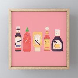 Ex-Condiments Framed Mini Art Print