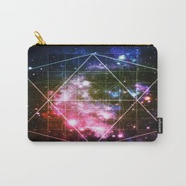 Rainbow Galaxy Sacred Geometry : Golden Rectangles Carry-All Pouch
