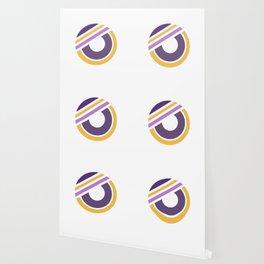 Circle of life 2 - geometric minimal Wallpaper