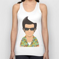 ace Tank Tops featuring Ace by Capitoni