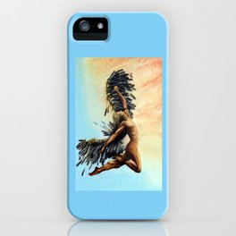 Season of the Legend - Icarus Descending iPhone Case