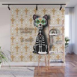 Dia de los Muertos - El Gato Wall Mural