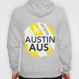 AUS Austin round yellow Hoody