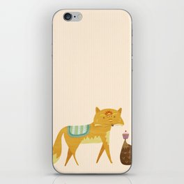 The Fox and the Hedgehog iPhone Skin