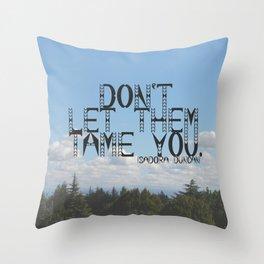 Boogieman Throw Pillow