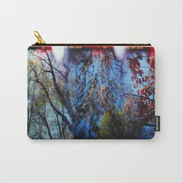 Holga Photo of Sky and Trees Carry-All Pouch