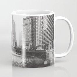 Dusk falls on Chicago Coffee Mug