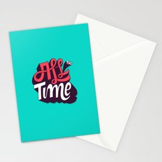 All The Time Stationery Cards