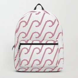 Candy cane pattern 4 Backpack